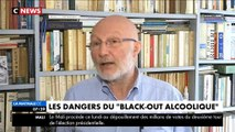 Alcool : Quels sont les risques d'un black out après une trop importante consommation d'alcool ? Regardez
