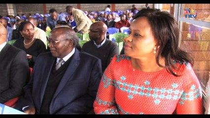 Kenya's Deputy President William Ruto in Kikuyu