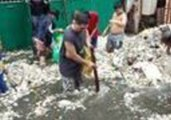 Torrential Rain Brings Flooding – and Garbage – to Philippine City of Navotas