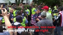 White Nationalists Outnumbered By Counter-Protesters At 'Unite The Right 2' Rally
