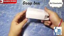 - Best out of waste |Soap Box reuse idea | DIY Room decor |cool craft idea |waste material craft IdeasCredit: Ks3 CreativeArtFull video: