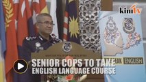 IGP: Senior police officers will be required to attend English course