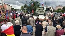 Commémoration de la libération d'Écouché, le 13 août 1944