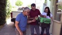 Uçamayan yavru kerkenez koruma altına alındı - IĞDIR