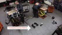 Burton 2CV Parts - Building a Citroën 2CV Rolling Chassis Timelapse