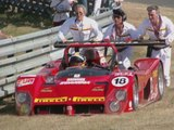 Le Mans 24 hours 1996 - Porsche 911 GT1  - Ferrari Crash