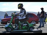 GUINNESS WORLD RECORD! Fastest MOBILITY SCOOTER! Speed RECORD! 107MPH!1/4 mile