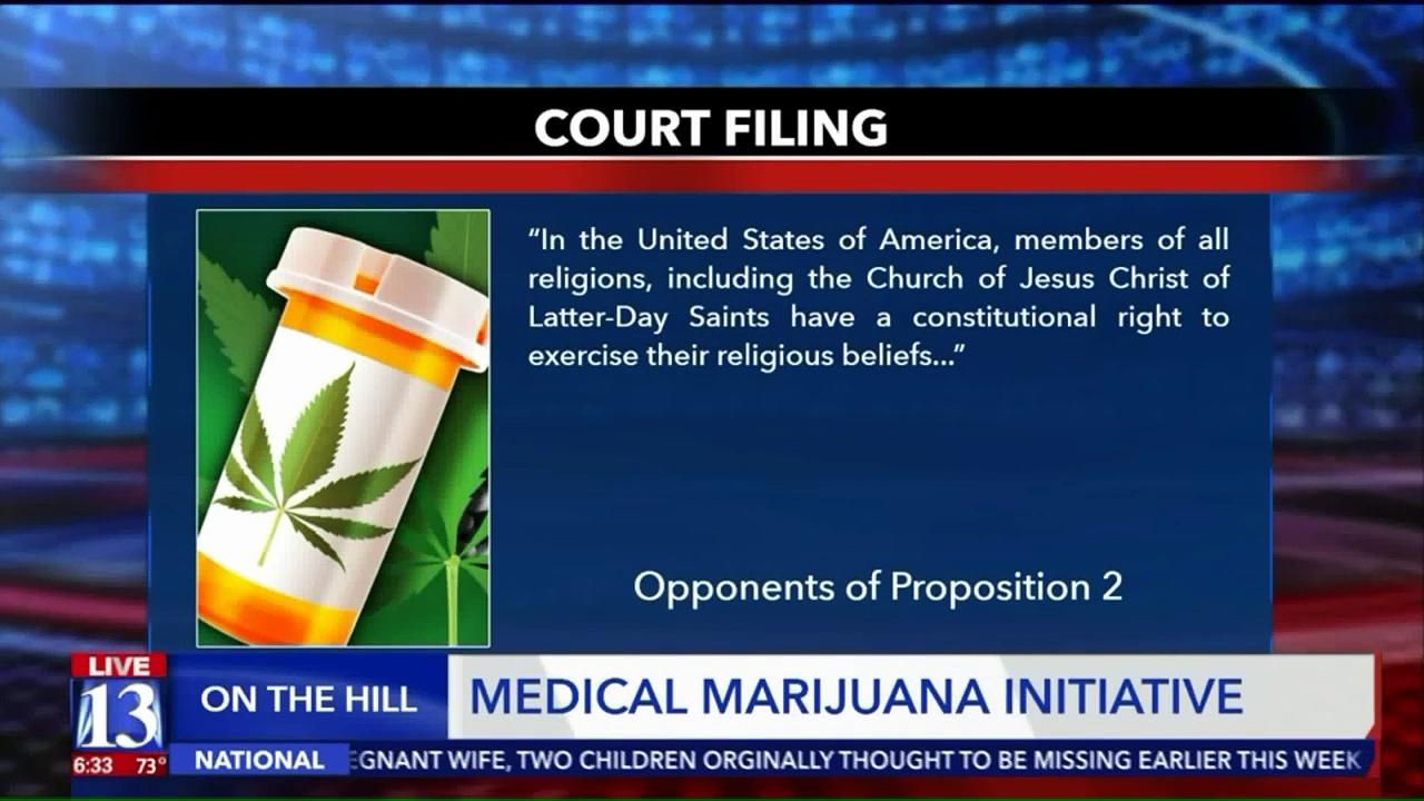 Lawsuit Claims Utah Medical Marijuana Initiative Violates Mormons` Religious Freedom