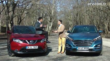 Oto Fark...  Nissan Qashqai - Hyundai Tucson karşılaştırması... Bölüm 4