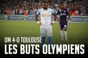 OM - Toulouse   Les 4 premiers buts du Championnat