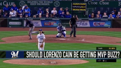 Should Lorenzo Cain Be Getting NL MVP Consideration?