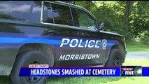 Revolutionary War-Era Headstones Vandalized at Indiana Cemetery