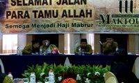 85 Jemaah Calon Haji Maktour Akan Berangkat Ibadah Haji