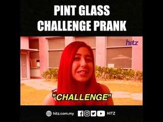 Pint Glass Challenge Prank!
