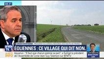 """Éoliennes: """"Ça coûte les yeux de la tête, ça ne crée pas d'emploi et ça détruit nos paysages."""", s'oppose Xavier Bertrand"""