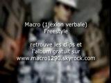 MACRO 1290 (1JEXION VERBALE) FREESTYLE RAP SUISSE