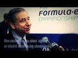 Jean Todt's views on Formula E