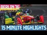 Extended Highlights: BMW i Berlin ePrix 2016 - Formula E