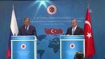 Çavuşoğlu-Lavrov Ortak Basın Toplantısı - Rusya Dışişleri Bakanı Lavrov