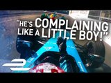 """""""He Hit Me On Purpose!"""" Unseen Onboards + Team Radio - Montreal - Formula E"""
