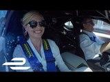 "Kate Upton: ""Scare Me!"" - Formula E Montréal Lap With CEO Alejandro Agag"
