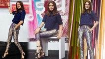 Anushka Sharma shimmers in Banarasi style pants at 'Sui Dhaaga' trailer launch   FilmiBeat