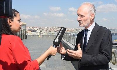 İTO Başkanı Şekib Avdagiç / BloombergHT