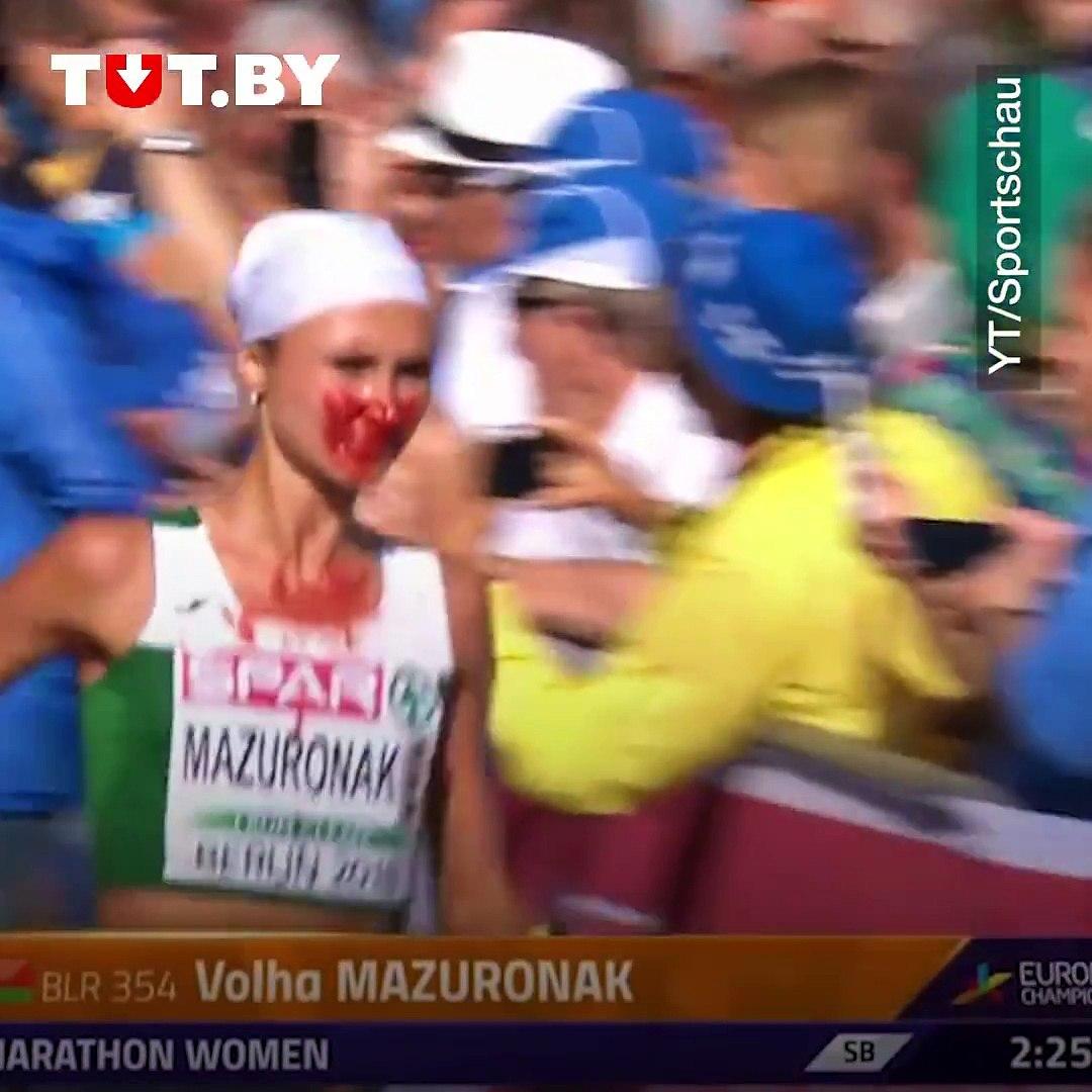 Видео дня!Железная леди, или Как Ольга Мазуренок выиграла марафон на чемпионате Европы в Берлине.