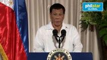 Duterte jokes about creating Iglesia ni Rodrigo
