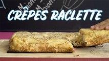 Crêpes raclette