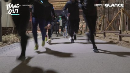[행아웃 시즌10 러닝크루] 와우산 30_ 연남동 야간 러닝 편