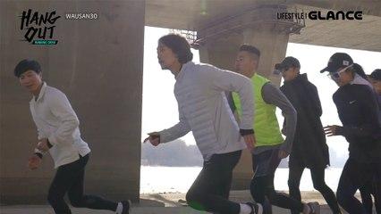 [행아웃 시즌10 러닝크루] 홍대기반 러닝 크루 WAUSAN 30 (와우산 30) 마포대교편!