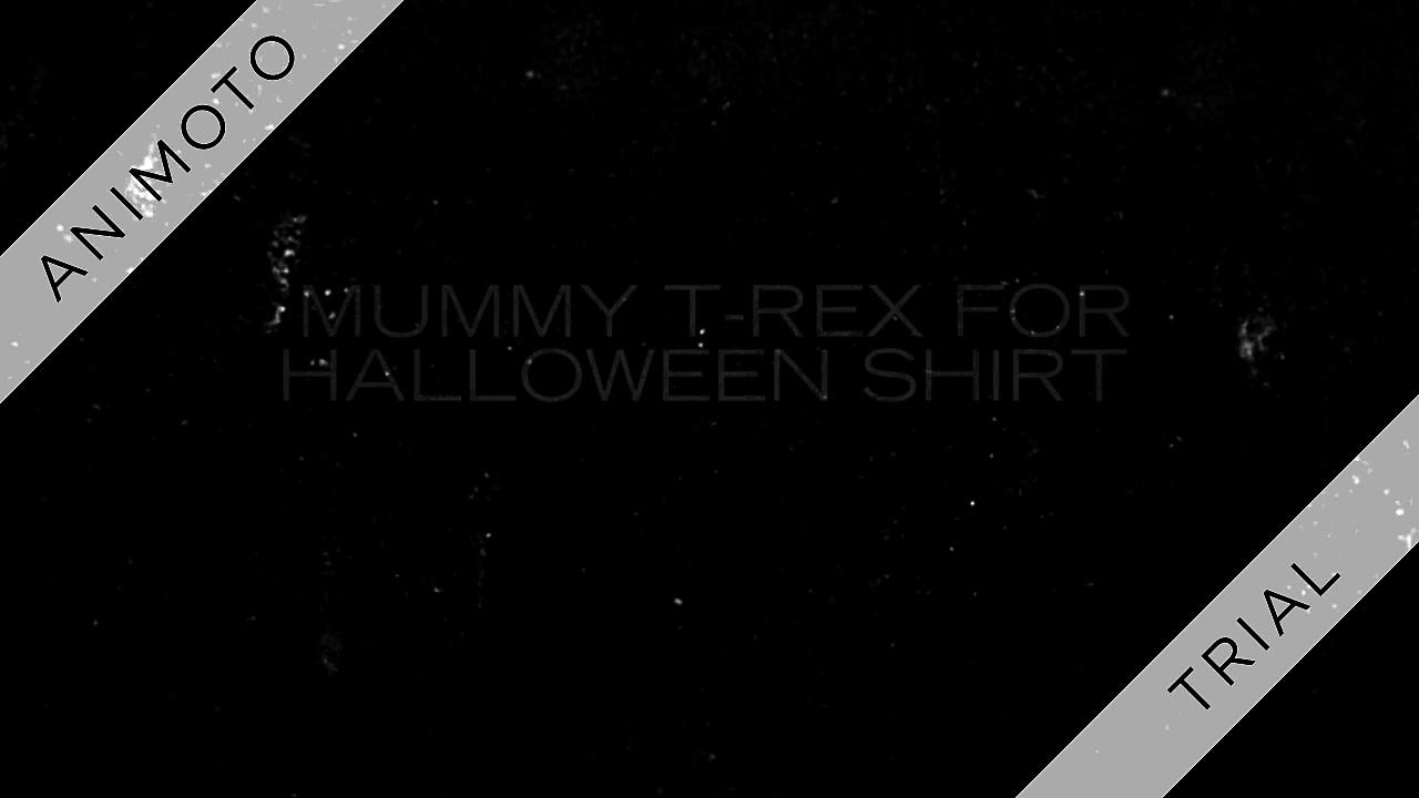 [SALE OFF] Mummy T-Rex for Halloween shirt