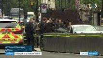 Londres : une attaque à la voiture-bélier devant le Parlement britannique fait plusieurs blessés