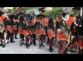 Pure Grenada Spicemas Carnival-Traditional Mas-Vieux Corps,Victoria St.Marks Vieux Corps is also known as the mas of disguise. The Vieux Corps mas dates as fa