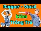 BTS Rapper - Vocal kiêm TRÔNG TRẺ - BTS funny moments