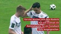 Timo Werner macht sich für Mesut Özil stark. Gut drei Wochen nach dem Rücktritt des Arsenal-Stars aus der deutschen Nationalmannschaft hat sich erstmals ein DFB