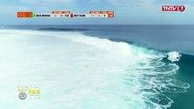 #surf #TahitiProTeahupoo Tikanui Smith a fait un score impressionant en demi finale des #trials et s'est qualifié d'office pour le Main event ! Retour sur sa de