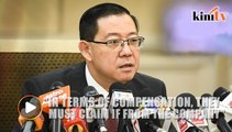 Guan Eng: ECRL workers not hired by gov't, they should seek compensation from China firm