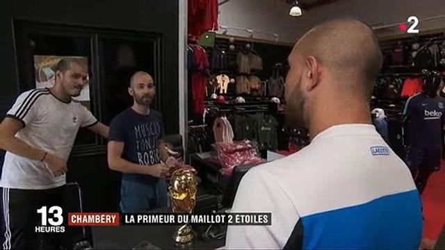 Maillot de l'équipe de France : Combien faut-il débourser pour avoir les deux étoiles ? Regardez