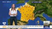 La grisaille s'accroche dans le nord alors que le soleil brille sur le reste de la France