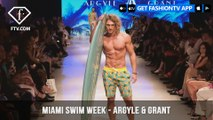 Argyle & Grant Sexy Mens Swimwear Miami Swim Week Art Hearts Fashion 2018 | FashionTV | FTV
