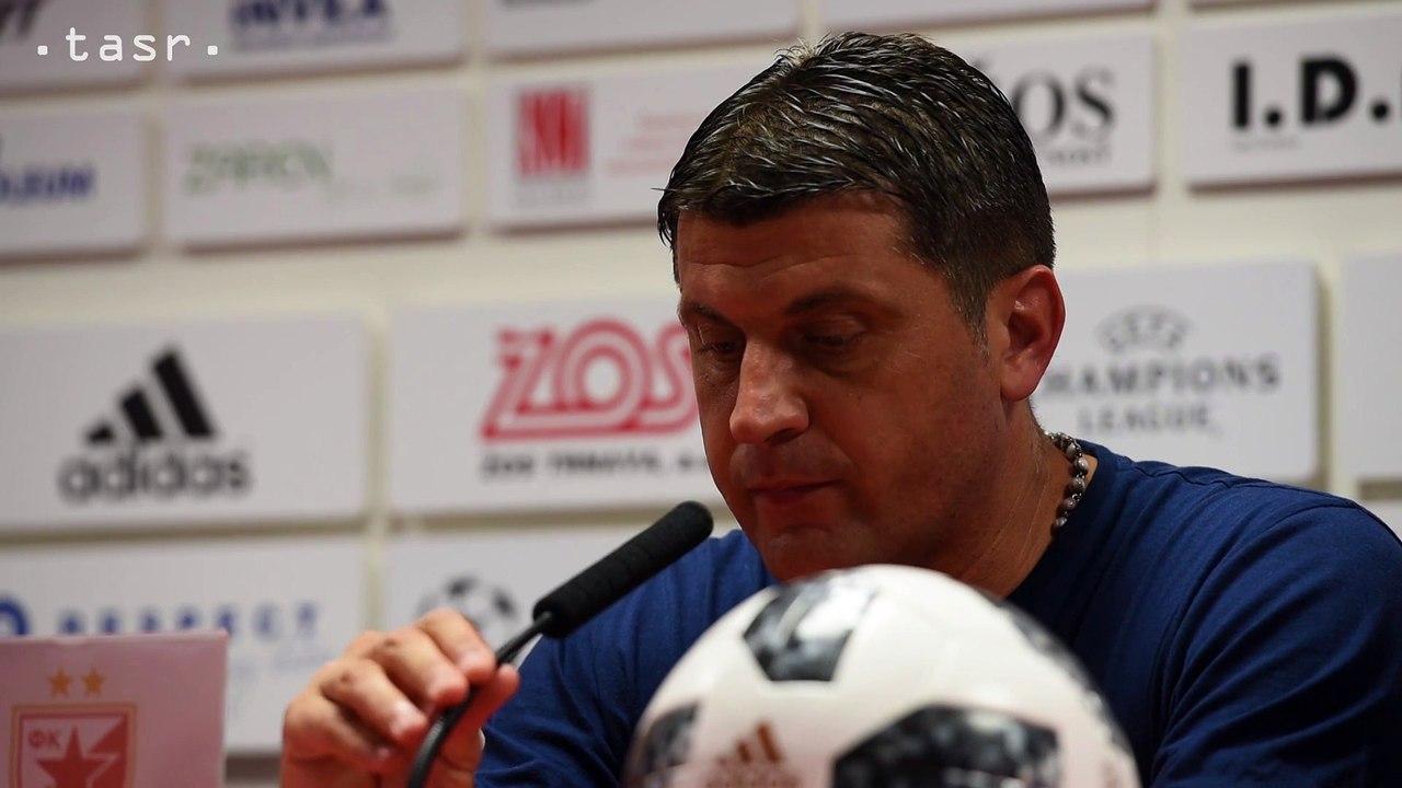 FUTBAL: Tréner CZ V. Milojevič hodnotí zápas s Trnavou