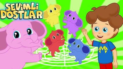 Zıp Zıp Filler - Sevimli Dostlar Çocuk Şarkıları | Okidokido