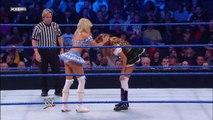 Kelly Kelly, Melina & The Bella Twins vs. Team Lay-Cool, Rosa Mendes & Alicia Fox - SmackDown - WWE Diva Wrestling Nikki Bella Brie Bella Fight Fighting Match Sports MMA
