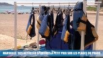 Marseille : des activités sportives à petit prix sur les plages du Prado
