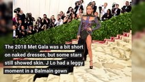 The Sexiest Dresses From The 2018 Met Gala - Hires