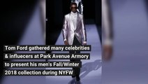 Tom Ford Men's Fall/Winter 2018 Collection at NYFW