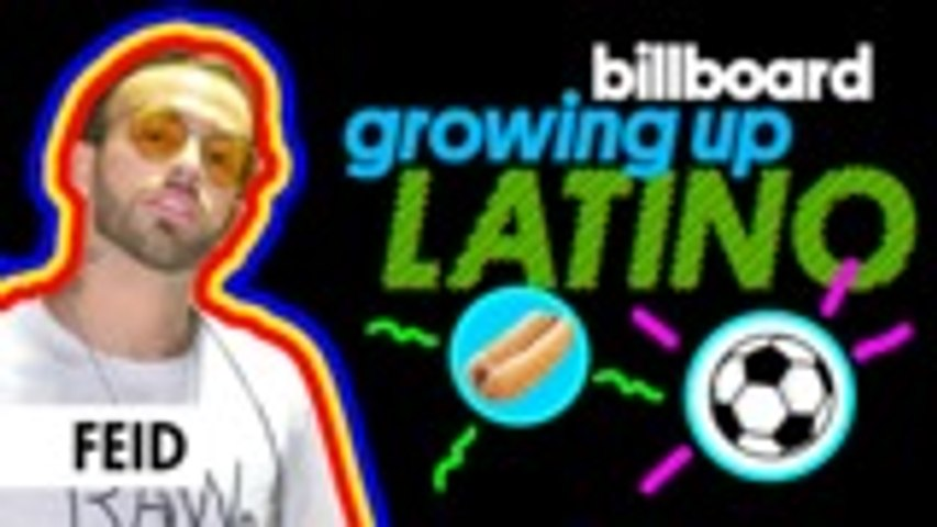 Feid Talks Learning to Dance,  Telenovela Crushes & More  | Growing Up Latino