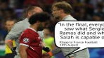 Ramos and Klopp's war of words
